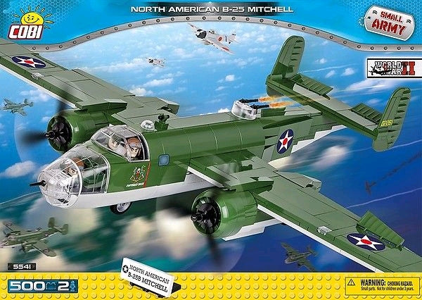 Small Army - 500 piece North American B-25 Mitchell on Ozzie Collectables