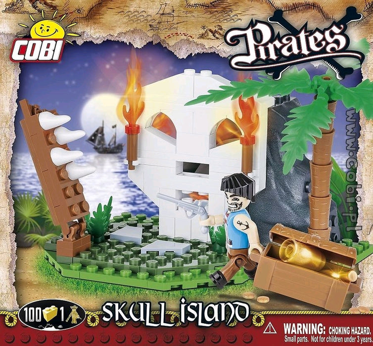 Pirates - 100 piece Skull Island on Ozzie Collectables