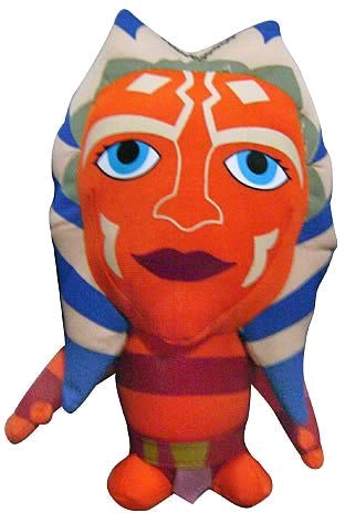 Star Wars: The Clone Wars - Ahsoka Deformed Plush - Ozzie Collectables