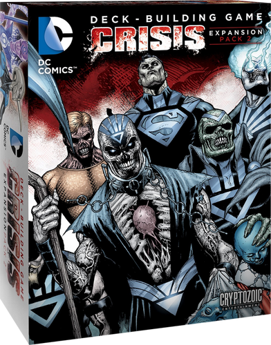 DC Comics - Deck-Building Game Crisis 2 Expansion - Ozzie Collectables