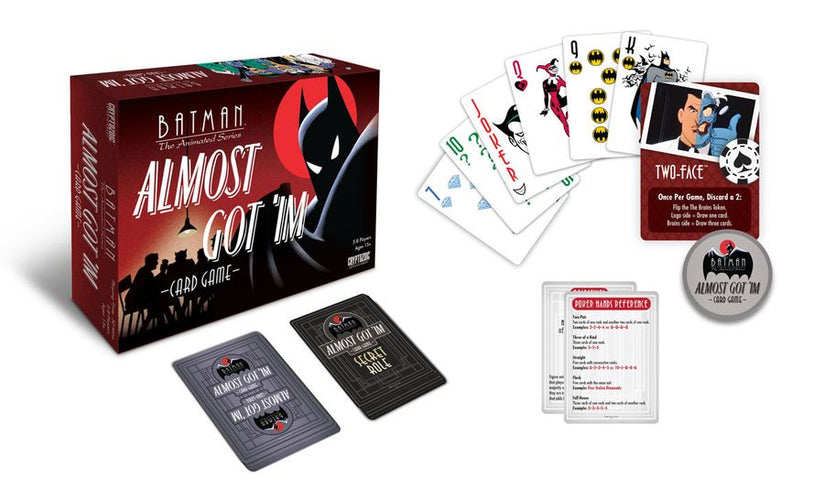 Batman: The Animated Series - Almost Got 'im Card Game - Ozzie Collectables