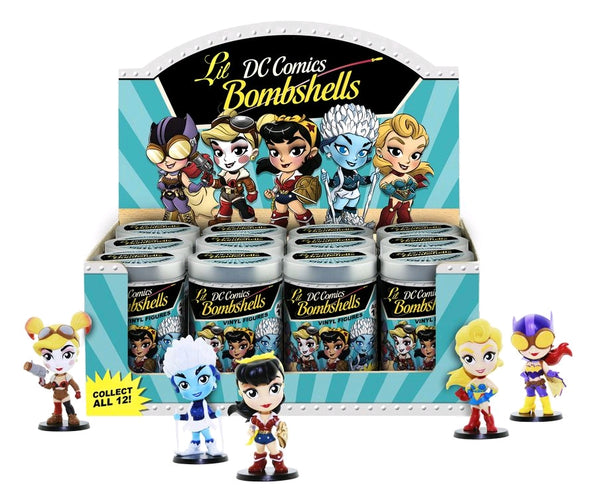 DC Bombshells - Lil' Bombshells Series 02 CDU Assortment - Ozzie Collectables