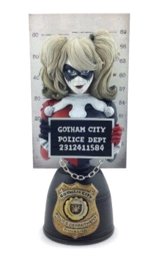 Batman - Harley Quinn Mugshot Bust #1 - Ozzie Collectables