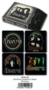 The Doors - Coasters Set Of 4 In Sleeve - Ozzie Collectables