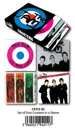 The Jam - Coasters Set of 4 In Sleeve - Ozzie Collectables
