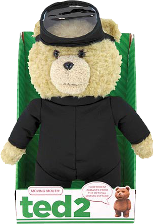 "Ted 2 - 16"" Animated Plush Scuba Outfit - Ozzie Collectables"