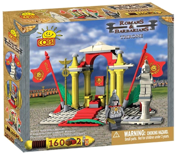 Romans & Barbarians - 160 Piece Throne Construction Set - Ozzie Collectables