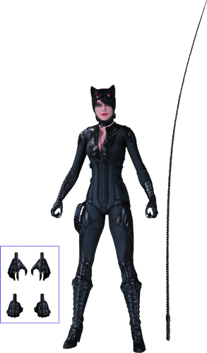 Batman: Arkham Knight - Catwoman Action Figure - Ozzie Collectables
