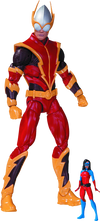 DC Comics - Johnny Quick with Atomica Forever Evil Action Figure - Ozzie Collectables