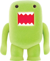 "Domo - 4"" Lime Soda Flocked Vinyl Figure - Ozzie Collectables"