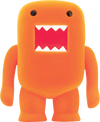 "Domo - 4"" Orange Soda Flocked Vinyl Figure - Ozzie Collectables"