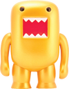 "Domo - 4"" Metallic Gold Vinyl Figure - Ozzie Collectables"