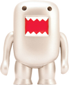 "Domo - 4"" Metallic Silver Vinyl Figure - Ozzie Collectables"