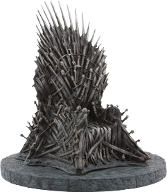 "Game of Thrones - Iron Throne 7"" Replica - Ozzie Collectables"