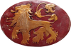 Game of Thrones - Lannister Shield Pin Replica - Ozzie Collectables