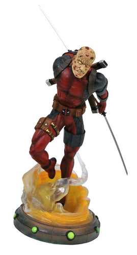 Deadpool - Unmasked Marvel Gallery PVC Diorama - Ozzie Collectables