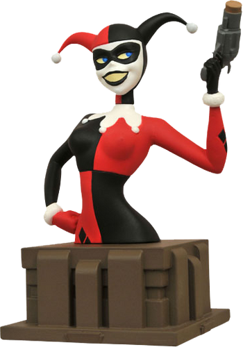 Batman: The Animated Series - Harley Quinn Resin Bust - Ozzie Collectables