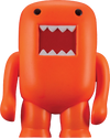 "Domo - 4"" Vinyl Figure Black-light Orange - Ozzie Collectables"