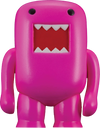 "Domo - 4"" Vinyl Figure Black-light Pink - Ozzie Collectables"