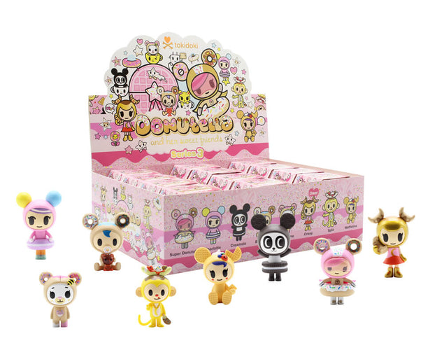 TOKIDOKI Donutella and her Sweet Friends Blind Box SERIES 3