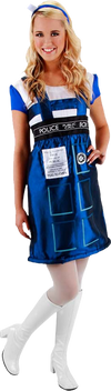 Doctor Who - TARDIS Costume Dress S/M - Ozzie Collectables