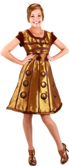 Doctor Who - Dalek Costume Dress S/M - Ozzie Collectables