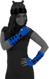 Doctor Who - Dalek Arm Warmers (Blue) - Ozzie Collectables