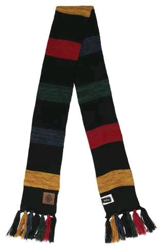 Harry Potter - Hogwarts Heathered Knit Scarf - Ozzie Collectables
