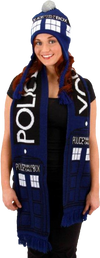 Doctor Who - TARDIS Scarf - Ozzie Collectables