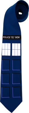 Doctor Who - TARDIS Necktie - Ozzie Collectables