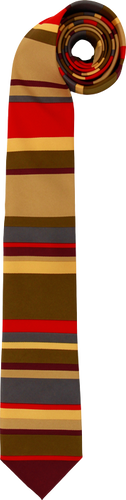 Doctor Who - Fourth Doctor Necktie - Ozzie Collectables