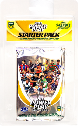 Rugby League - 2013 Power Play Starter Kit - Ozzie Collectables