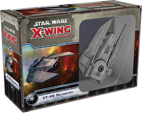 Star Wars - X-Wing Miniatures Game - VT-49 Decimator Expansion Pack - Ozzie Collectables