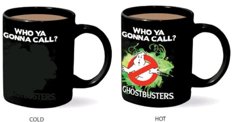 Ghostbusters - Heat Changing Mug - Ozzie Collectables