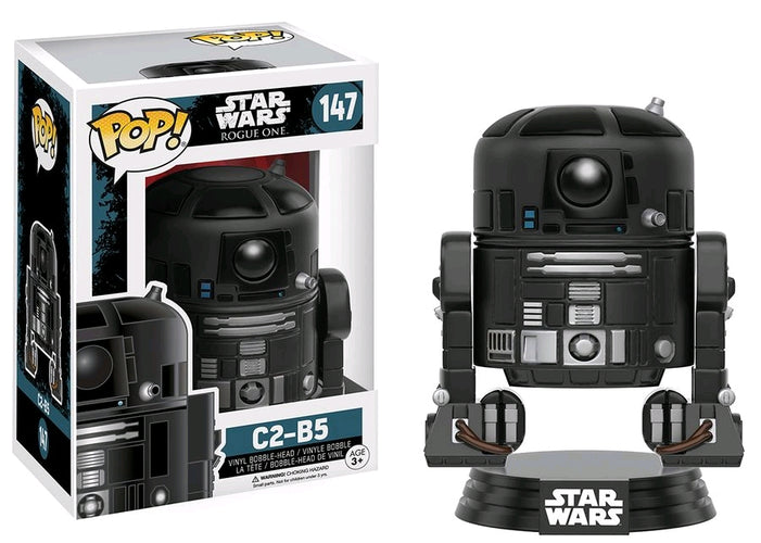 Star Wars: Rogue One - C2-B5 Pop! Vinyl - Ozzie Collectables