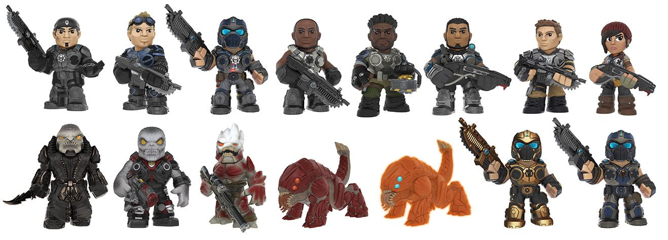 Gears of War - Mystery Minis Blind Box - Ozzie Collectables