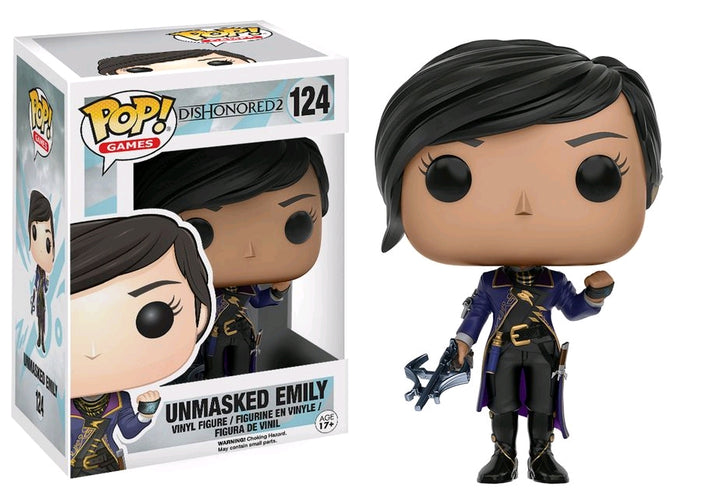 Dishonored 2 - Emily Unmasked US Exclusive Pop! Vinyl - Ozzie Collectables