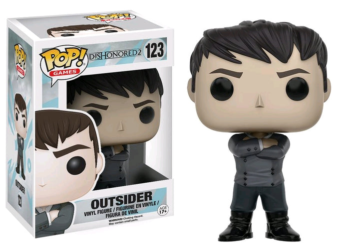 Dishonored 2 - Outsider Pop! Vinyl - Ozzie Collectables