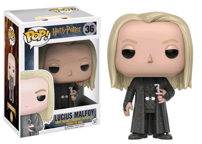 Harry Potter - Lucius Malfoy Pop! Vinyl - Ozzie Collectables