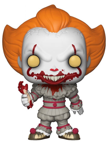 It (2017) - Pennywise with Severed Arm US Exclusive Pop! Vinyl [RS] on Ozzie Collectables