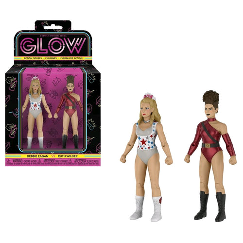 GLOW - Debbie Eagan & Ruth Wilder Action Figure 2-Pack - Ozzie Collectables