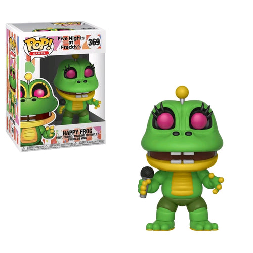 Five Nights at Freddy's: Pizza Sim - Happy Frog Pop! Vinyl - Ozzie Collectables