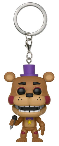 Five Nights at Freddy's: Pizza Sim - Rockstar Freddy Pocket Pop! Keychain - Ozzie Collectables