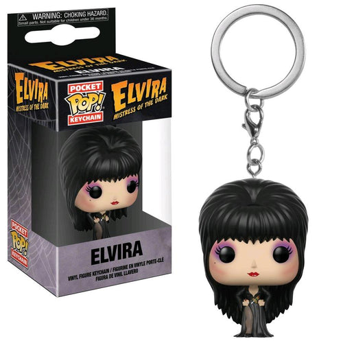 Elvira - Elvira (Red Dress) US Exclusive Pocket Pop! Keychain - Ozzie Collectables