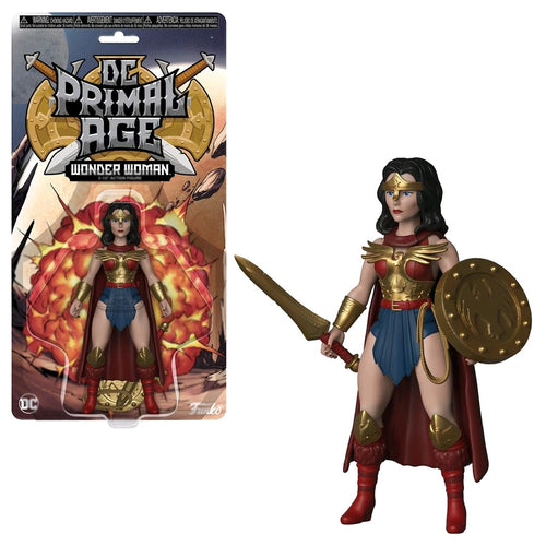 DC Primal Age - Wonder Woman Savage World Figure - Ozzie Collectables