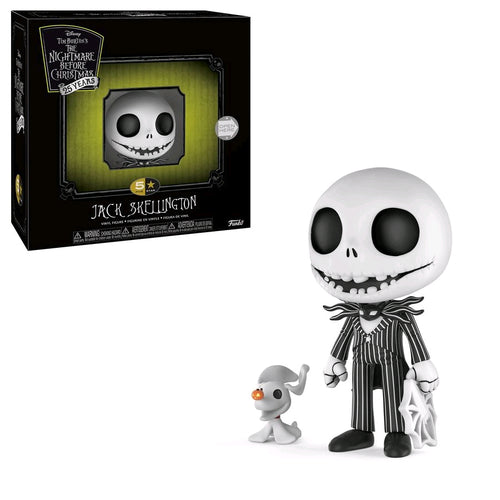 The Nightmare Before Christmas - Jack Skellington 5-Star Vinyl Figure - Ozzie Collectables