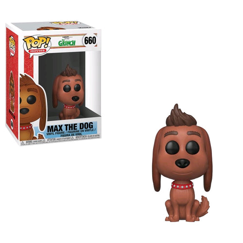 The Grinch (2018) - Max the Dog Pop! Vinyl - Ozzie Collectables