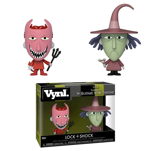 The Nightmare Before Christmas - Lock & Shock Vynl. - Ozzie Collectables