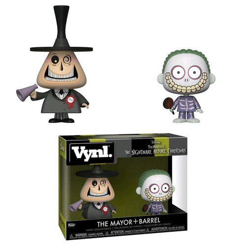 The Nightmare Before Christmas - Mayor & Barrel Vynl. - Ozzie Collectables