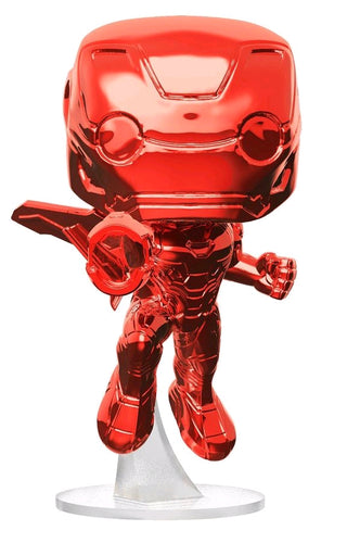 Avengers 3: Infinity War - Iron Man Red Chrome US Exclusive Pop! Vinyl - Ozzie Collectables